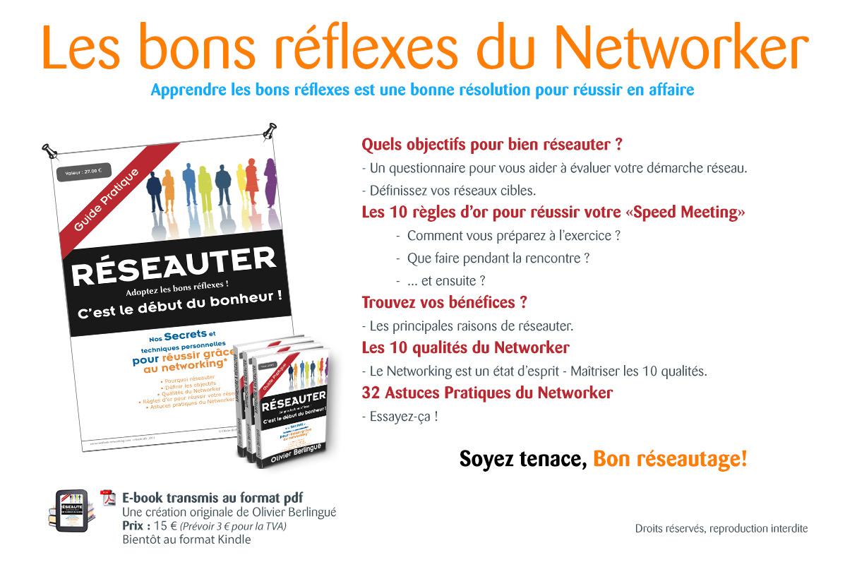 Guide Méthode Networking pour réussir dans les réseaux d'affaires