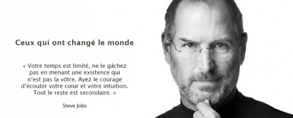 Steves Jobs et citation