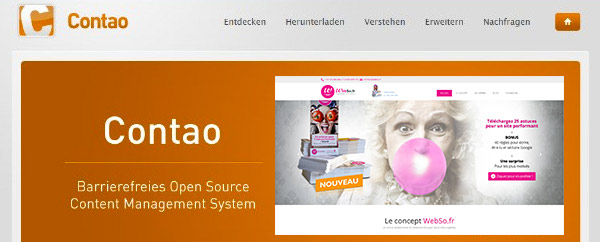 Webso site responsive design